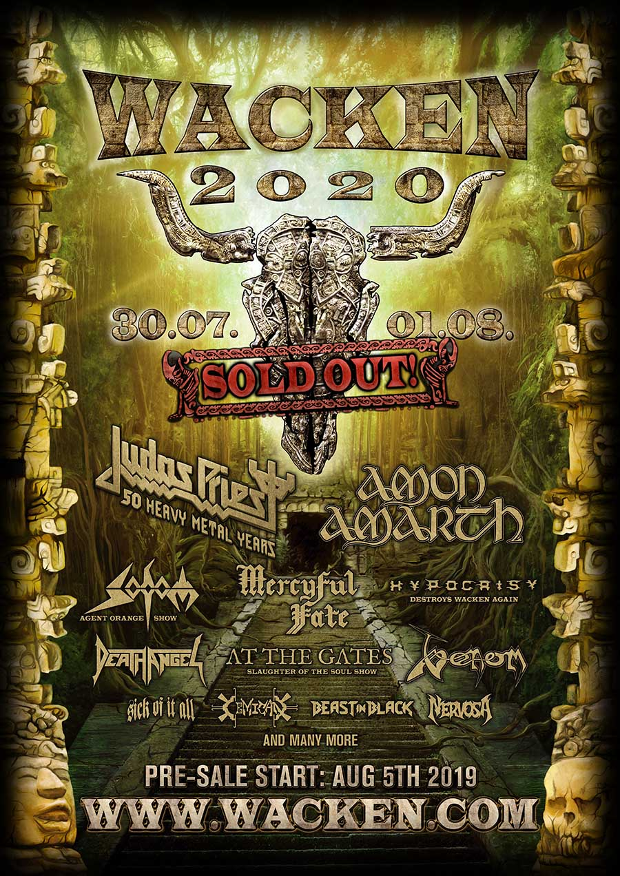 How Many Days Until Christmas 2020.W O A 2020 Is Sold Out W O A Wacken Open Air