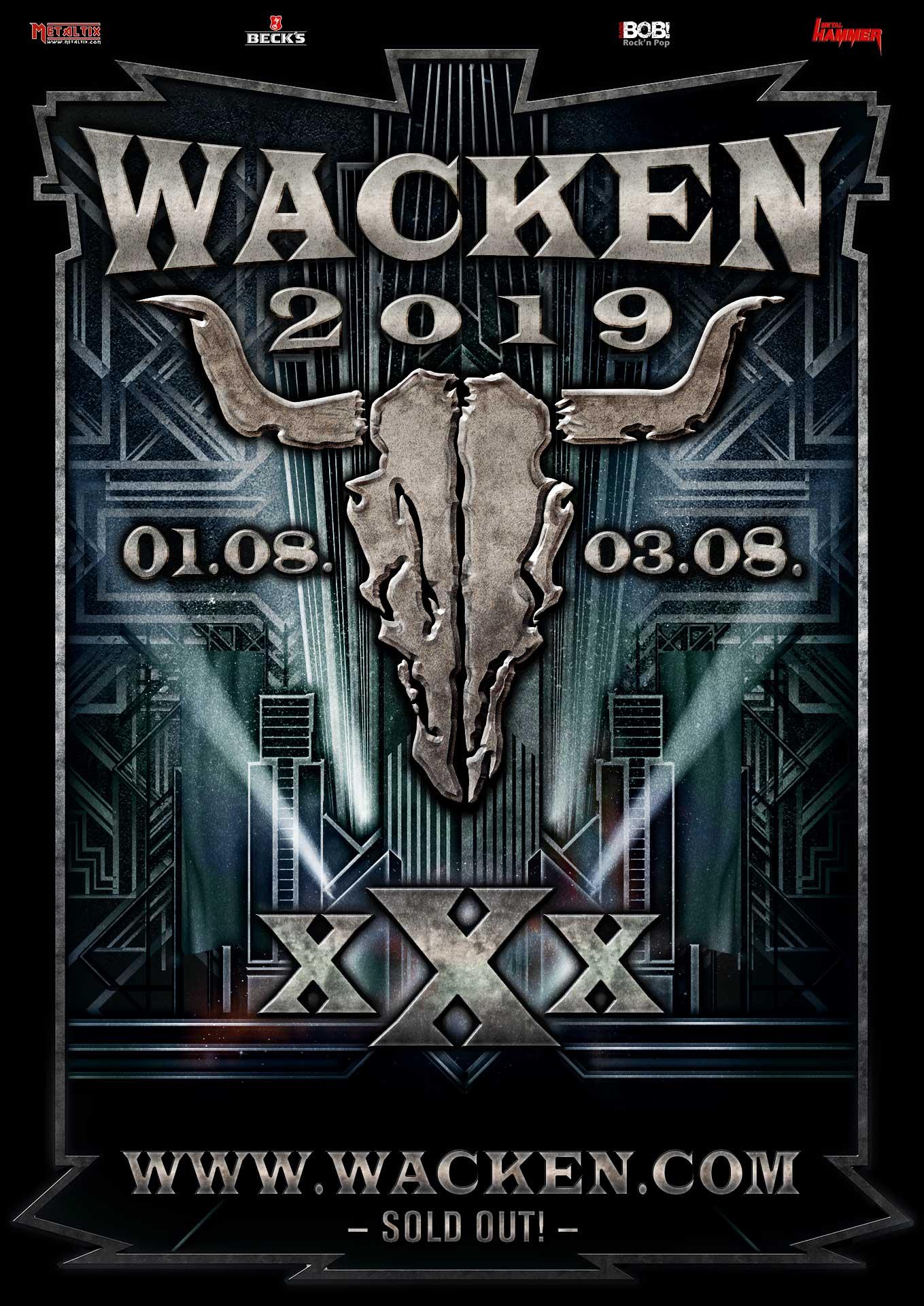 Wacken 2019 Tickets