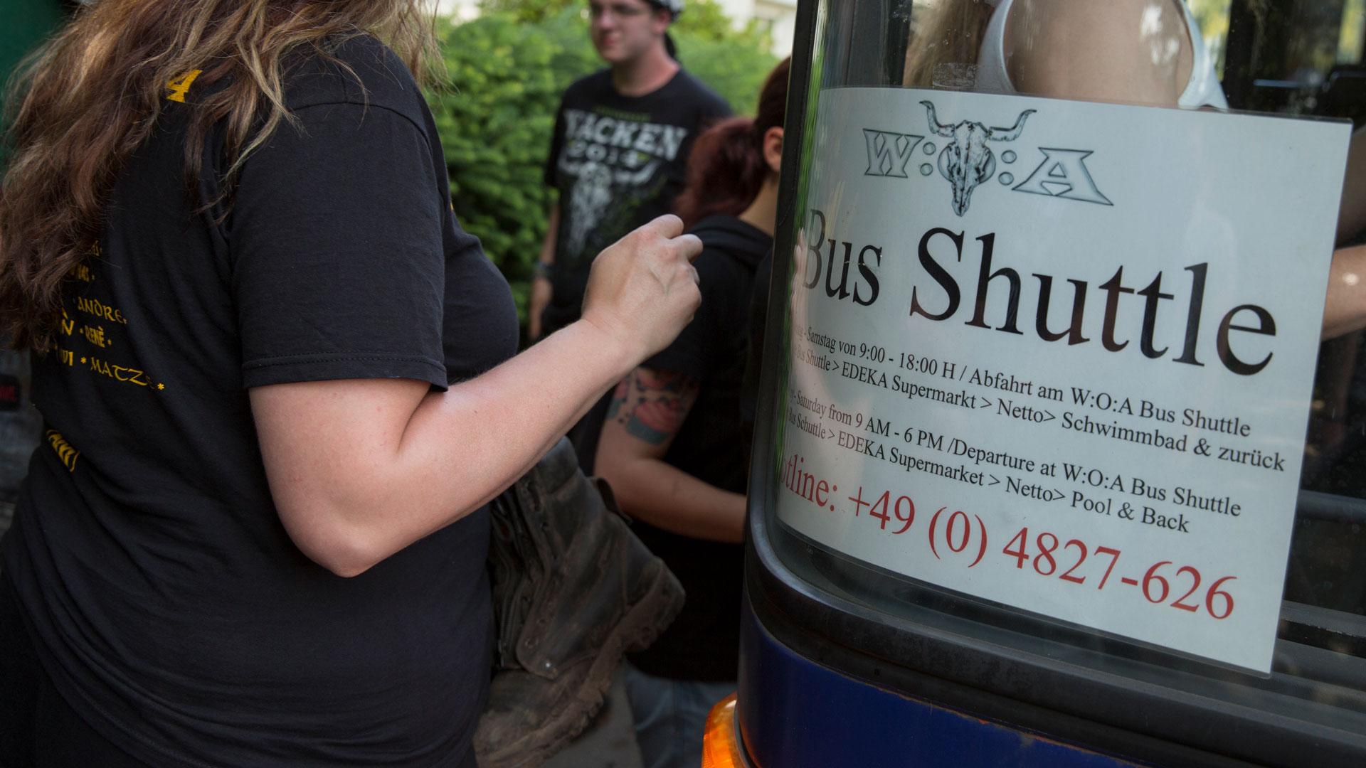 Shuttlebus Wacken