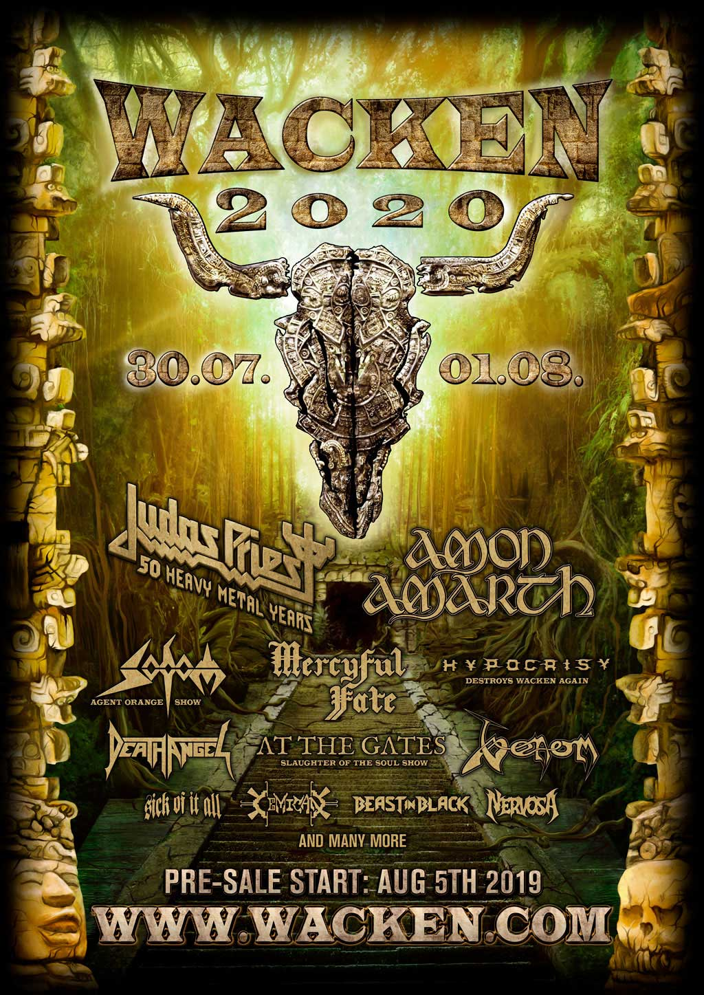 Best New Metal Bands 2020 W:O:A 2020   the first bands are confirmed! | W:O:A   Wacken Open Air