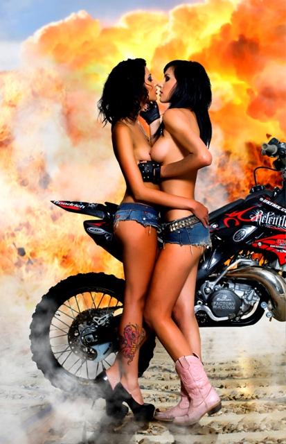 Fuel girls having sex — 1